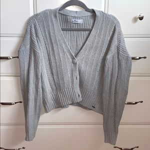Hollister cardigan button up
